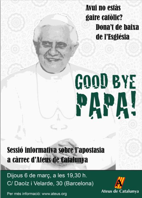 Good Bye, Papa! Sessió informativa