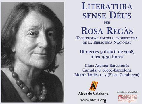 Cartell Rosa Regàs
